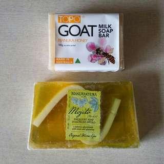 <超平皂>$38/2件TOPO goat/MANUFAKTURA soap