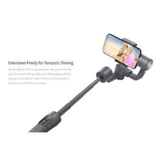 🚚 In Stock - Feiyu Vimble 2 (Space Grey) Handheld Smartphone Gimbal with Built-In Extension Pole
