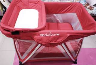 Giant Carrier Crib / Playpen (Red)