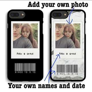 #38 Qr code customizable phone cover