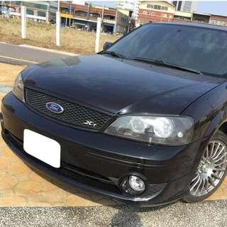 【購車無負擔‧買車夠保障】FORD 2006年 TIERRA XT 1.6 黑色 服務實在 值得信賴