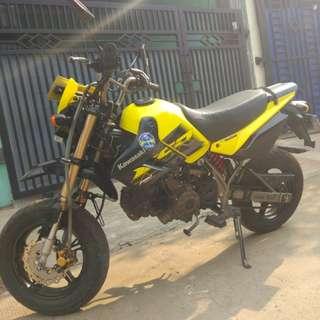 Kawasaki ksr pro 110cc. 2016 bulan1