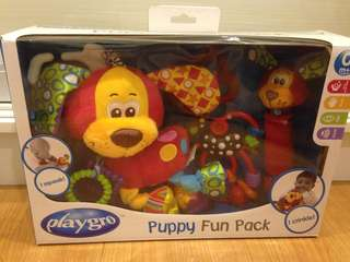 Playgro puppy fun pack