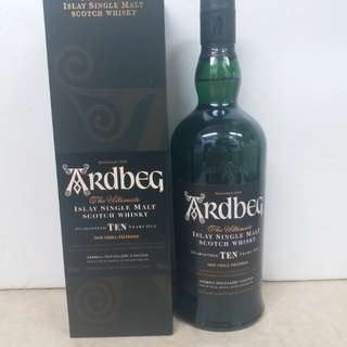 Ardbeg 10y Islay single malt scotch 威士忌 whisky