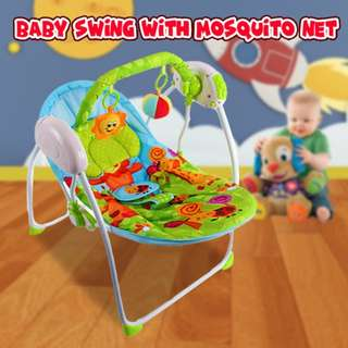 BABY SWING WITH MOSQUITO NET /New Rocker Swing