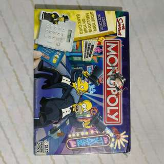 """Monopoly """"The Simpsons"""" Edition with Electronic Banking"""