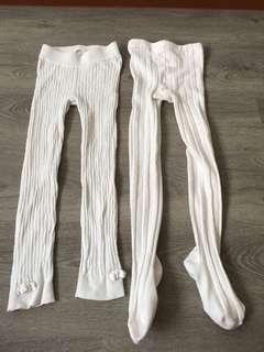 Girls winter legging . 2 for $7 . Wear 1 time only.