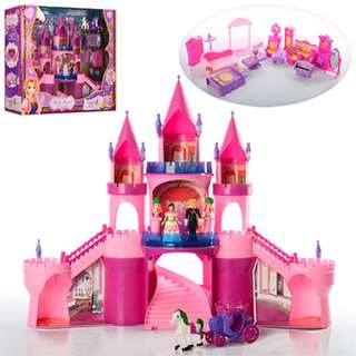 My Dream Castle Dollhouse Play set - Luxurious Carriage set