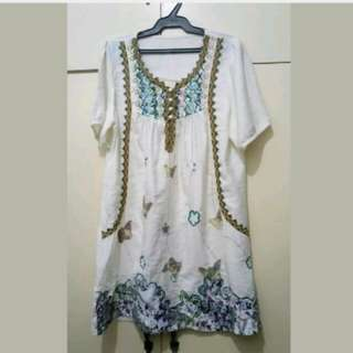 WA569 Made in Bangkok Unbranded Dress Medium