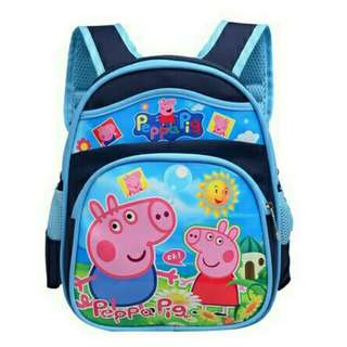 FREE SHIPPING MANILA 😘 Peppa Pig George Pig Backpack for kids
