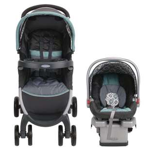 Graco FastAction Click Connect 30 Travel system