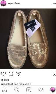 Gap Kids Glitter Loafers