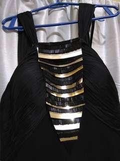 GEORGES HOBEIKA Black Gown orig price 4,800 riyal(64,800 pesos)