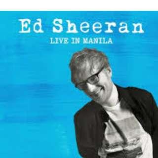 Buying Ed Sheeran Ticket(Silver)
