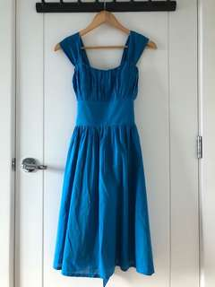 Royal Blue Semi-Formal Dress