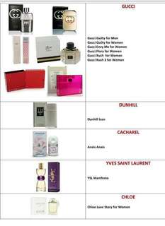 AUTHENTIC BRANDED PERFUMES FROM USA