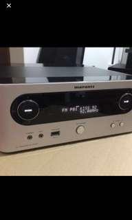 Marantz M CR503 + Denon SC M37 speaker