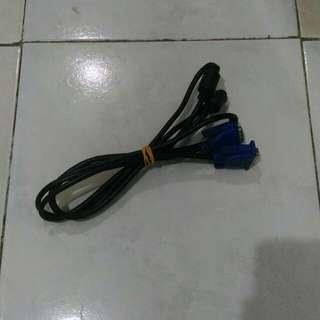 Kabel VGA to VGA Standard