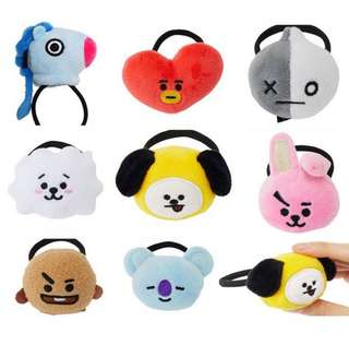[PO] BT21 UNOFFICIAL HAIR TIES