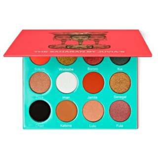 [ORI] JUVIA'S The Saharan Eyeshadow Palette