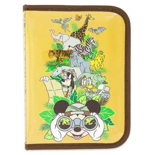 Mickey Mouse and Friends Safari Zip-Up Stationery Kit - Disney's Animal Kingdom