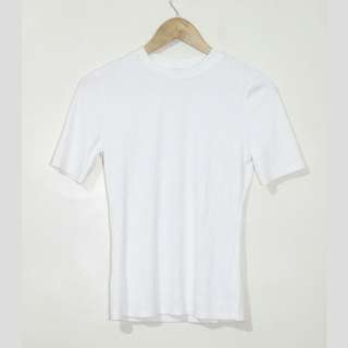 ‼ REPRICED‼ H&M White ribbed top