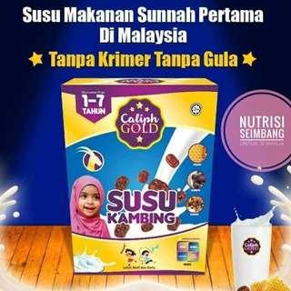 Caliph Gold Susu Kambing Kismis Kurma Madu 800g + Free Gift