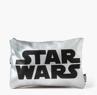 Star Wars Ladies Big Clutch (Silver)