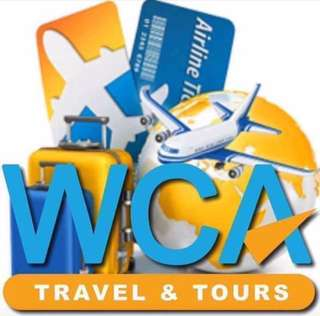 WCA travel n tours promotion flight booking
