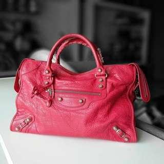 Authentic Balenciaga Classic City Leather Bag