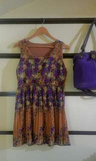 Floral dress 💜