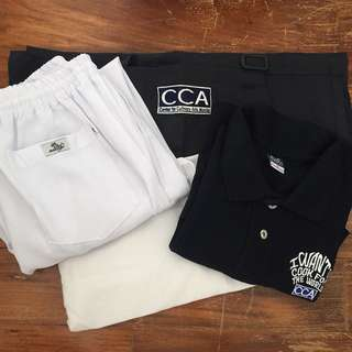 CCA Uniform Set 2 with FREE Chef Jacket