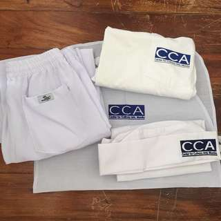 CCA Uniform Set 1 with FREE Chef Jacket