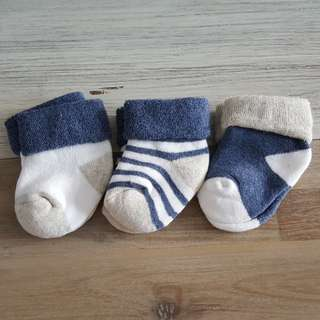 Baby Socks (set of 3)