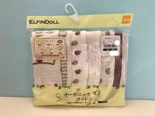 (現貨)日本🇯🇵西松屋 口水肩 雙面可用 (刺蝟 波點)