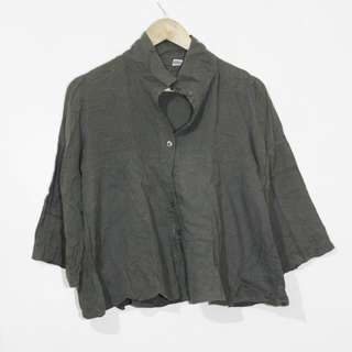 ‼ REPRICED‼ Army green top