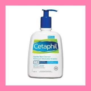 Cetaphille skin cleanser