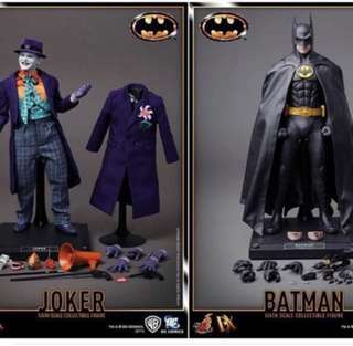 Hot Toys DX-08 n DX-09 Batman 1989 n The Joker Set of 2 ONLY *no separate sales*
