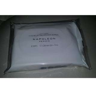 BN&S genuine Napoleon Perdis Lift Off makeup remover wipes 10 pack