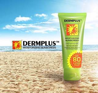 Dermplus Moisturizing Sunscreen SPF80 (FULL SIZE)
