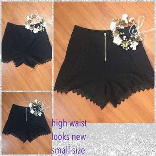 Korean preloved high waist shorts size 26