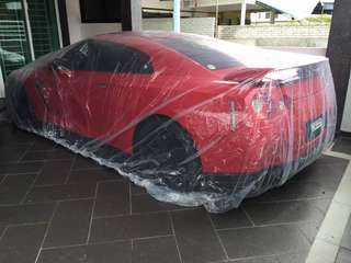 Transparent Car Cover