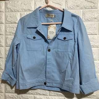 淺藍色外套 薄款