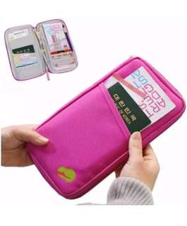 Travel Wallet Passport Ticket Holder Organizer (Pre-order)