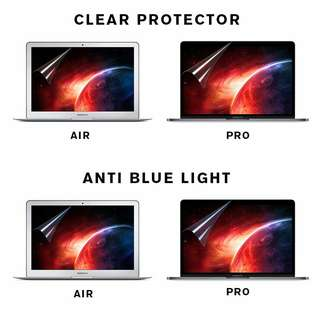 🎉INSTOCKS🎉HD Clear Screen Protector for Macbook Pro Retina Air