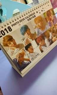 2018 BTS CALENDAR