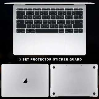 🎉INSTOCKS🎉3 Set Macbook Guard Sticker Palm Laptop Protector Air Pro Retina