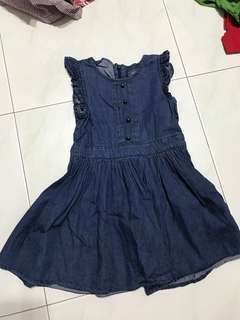 Denim Dress Pumpkin Patch Size 3
