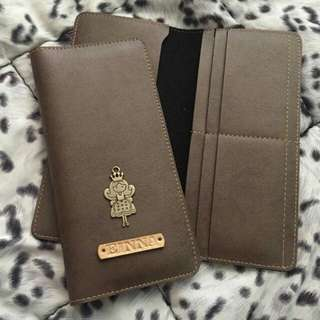 -peRsoNalized- Long Wallet (with 4 card holder)