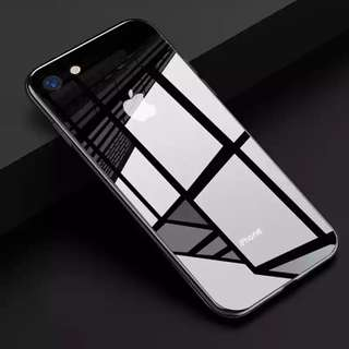 iPhone Glass Mirror Reflective Case